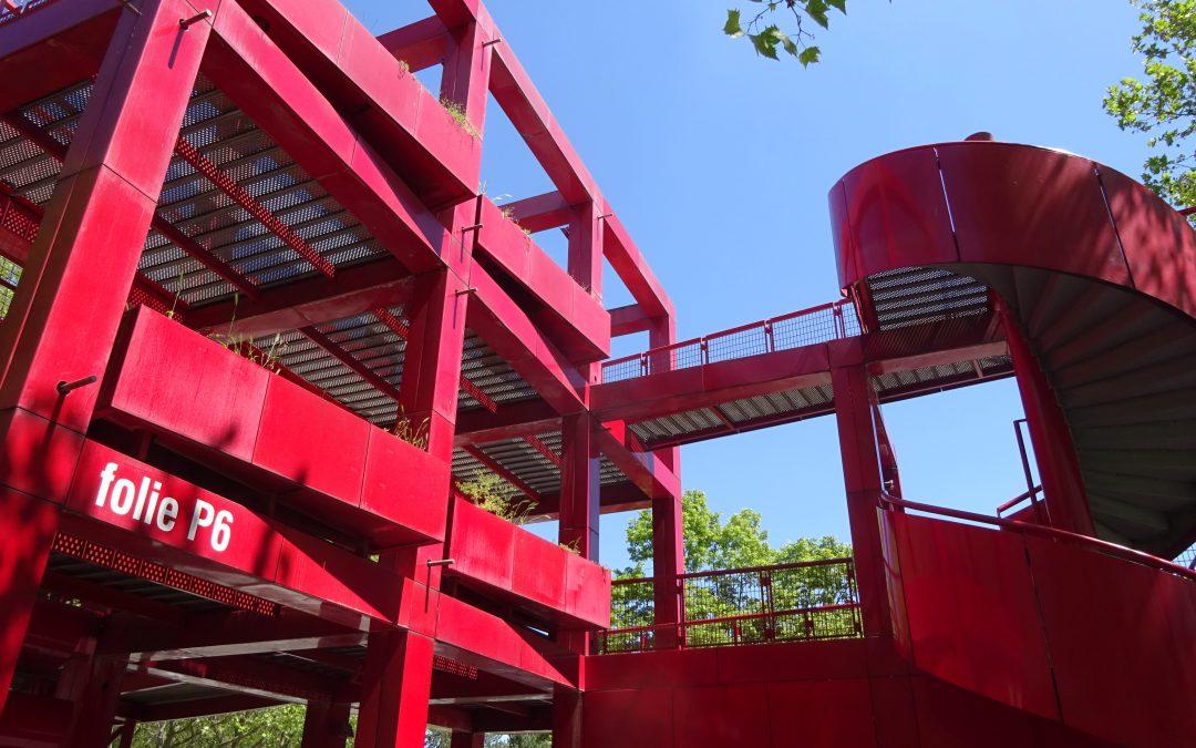 2ème épisode, Folie Belvédère et conception du parc de la Villette.